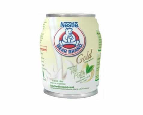 Bear Brand White Tea merk susu rendah lemak yang bagus