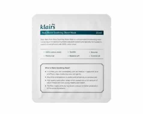 Klairs-Rich-Moist-Soothing-Sheet-Mask