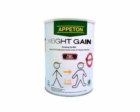 merk susu penambah berat badan anak Appeton Weight Gain Child