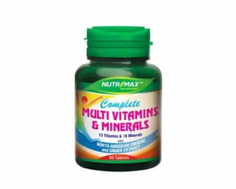 Nutrimax Complete Multivitamins & Mineral