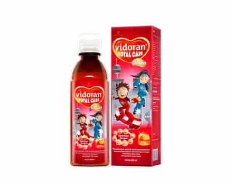 merk vitamin penambah nafsu makan Vidoran Total Care