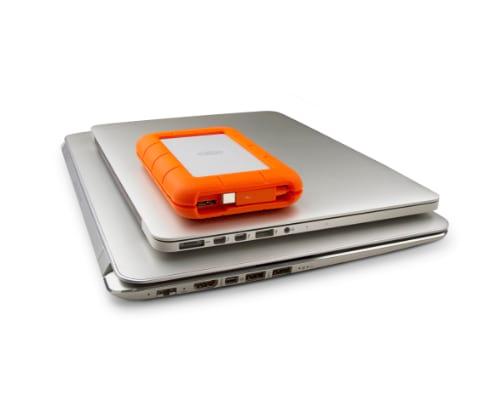 LaCie Rugged Thunderbolt & USB 3.0 Merk hardisk eksternal terbaik