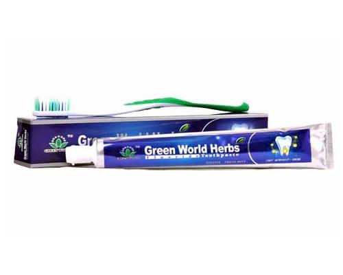 Green-World-Herbs-Toothpaste