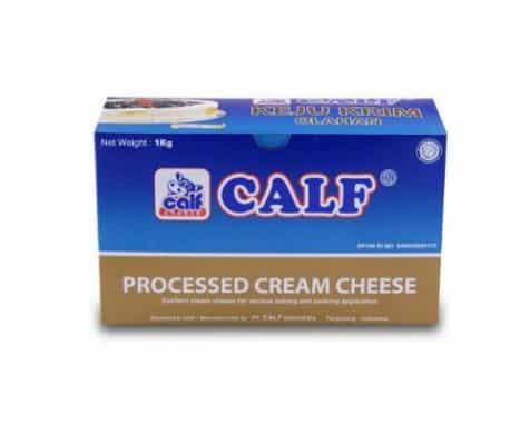 Calf Processed Cream Cheese