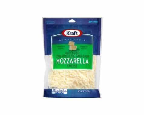 Kraft Shredded Mozzarella Cheese