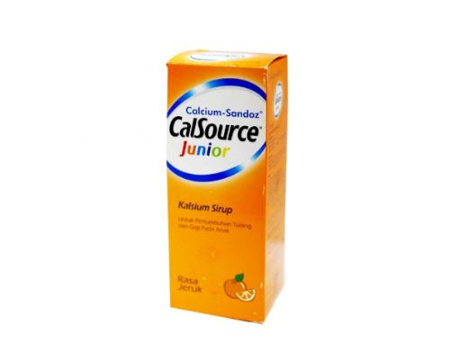 Calcium Sandoz Calsource Junior