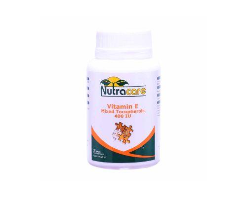 Nutracare Vit E Mixed Tocopherols 400