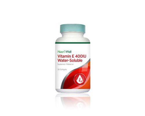Nutri-Well Vitamin E 400 IU Water Soluble