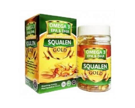 Omega 3 EPA & DHA Squalene Gold