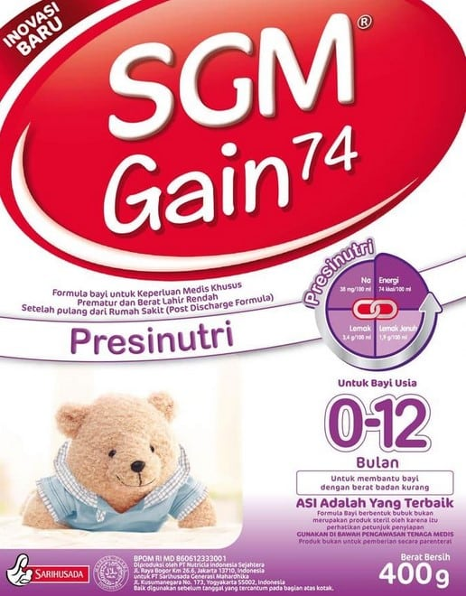 SGM-Gain-74-Presinutri