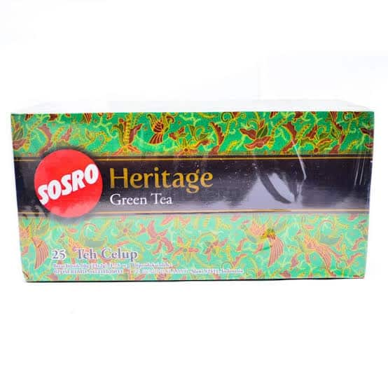 Merk-Teh-Hijau-Heritage-Green-Tea-Sosro